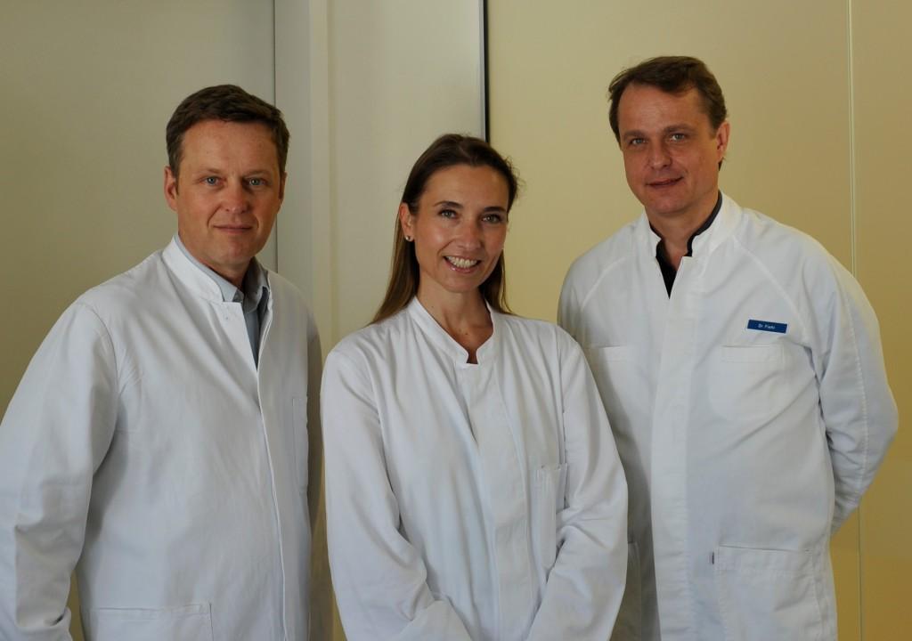 Ärzteteam der HNO-Praxis Eching